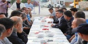Başkan Sandal, işçilerle buluştu