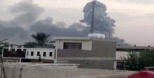 Bağdat'ta mühimmat deposunda patlama: 6 yaralı