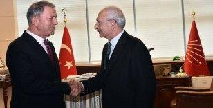 Bakan Akar, Kılıçdaroğlu ile görüştü