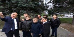 Başkan Aydın'dan okul ziyareti