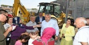 Başkan Karalar projelerin takibinde