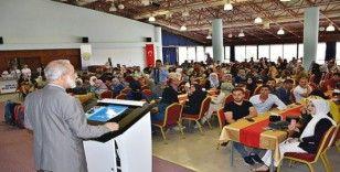 HRÜ Rektörü Çelik, yabancı öğrencilerle buluştu