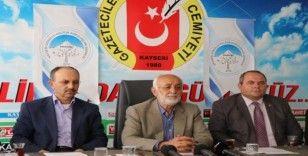 Kayseri Gönüllü Kültür Kuruluşları'ndan Barış Pınarı Harekatına destek