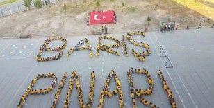 Öğretmenler ve öğrencilerden Mehmetçiğe destek büyüyor