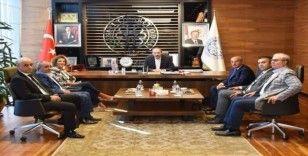 İstanbul Develi ve Yöresi Kültür ve Dayanışma Derneği'nden KTO Başkanı Gülsoy'a Ziyaret