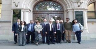 Trakya Üniversitesi Rektörü Tabakoğlu'nun Macaristan temasları