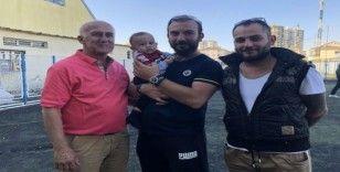 Antrenör Şirvan Çeçen'in yeğeni uğur meleği oldu