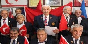 Kıbrıs gazilerinden KKTC Cumhurbaşkanı Akıncı'ya tepki