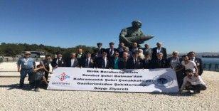 Gazilerden Vali Şahin ve Rektör Durmuş'a teşekkür