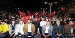 Sultangazi'de milli maç heyecanı