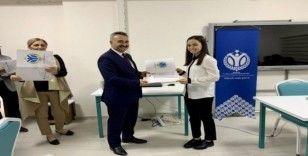 TÜBİTAK projesi yürütücülerine teşekkür belgeleri verildi
