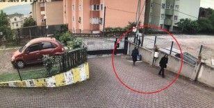 PTT Kocaeli Başmüdürünün evine giren kadın yakayı ele verdi