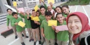 Köy okulları mektup kardeşliğinde buluştu
