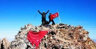 Mehmetçik'e Erciyes'in zirvesinden destek