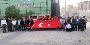 'Aliya'nın  Vasiyeti-Saraybosna' projesi kapsamında gençler yola çıktı