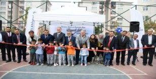 Baykoca semt sahası törenle açıldı