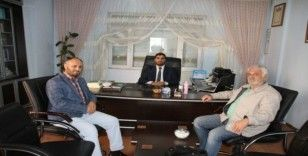 Gazetecilerden Müftü Öztürk'e ziyaret