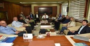 Başkan Çerçi, Manisa Akademik Odalar Birliği'ni ağırladı