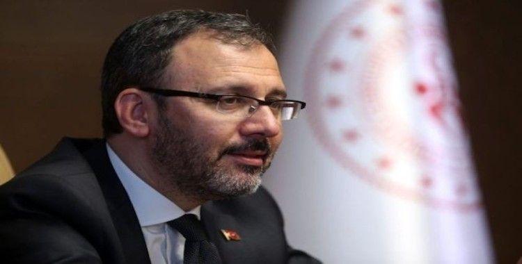 """Bakan Kasapoğlu: """"Bir hata yapacaklarını sanmıyorum"""""""