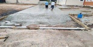Körfez'de okullara tadilat desteği