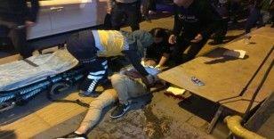 Bilecik'te bıçaklı saldırı sonrası yaşananlar güvenlik kamerasına yansıdı