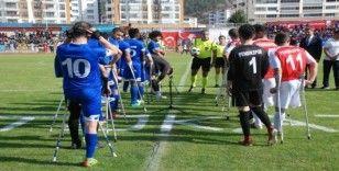 Ampute Futbol Türkiye Kupası, Tokat'ta başladı