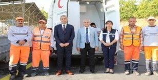 Battalgazi Belediyesi, çalışanlarına sağlık taraması yaptırdı.