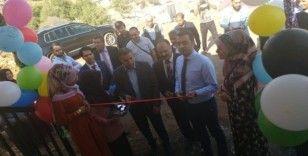 Çamdere Köyünde halı atölyesi açıldı