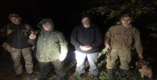 Ukrayna'da 6 Türk vatandaşı sınırdan kaçak geçerken yakalandı