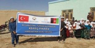 Afganistan Türkmenlerinden Barış Pınarı Harekâtına dua