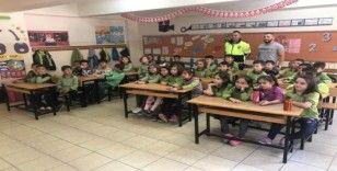 Şaphane ilkokul öğrencilerine trafik eğitimi