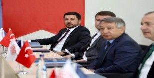 Başkan Arı, AHİKA Ekim ayı yönetim kurulu toplantısına katıldı