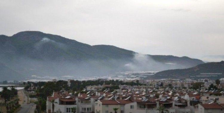 Bozyazı'da 11 noktada çıkan orman yangınları söndürüldü