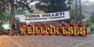 Bilecik'teki Eskişehirli öğrenciler şehitler için mevlit okuttu