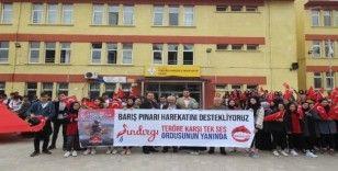 Sındırgı Anadolu İHL'den Barış Pınarı Harekatı'na destek