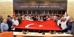 Kepez Meclisi Barış Pınarı Harekatı kapsamında 'Tek yürek' oldu