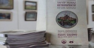 Yılmaz'ın eserleri, Trakya Üniversitesi Güzel Sanatlar Fakültesi'nde