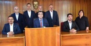 Başkan Öz'den 'Barış Pınarı'na tam destek