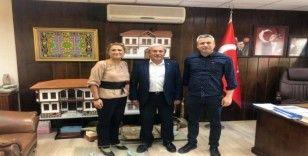 Bilecikspor Başkanı Avcı'dan Belediye Başkanı Şahin'e ziyaret