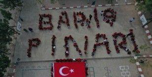 Öğrencilerden Mehmetçiklere asker selamı