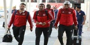 Sivasspor, Galatasaray maçı için İstanbul'a gitti