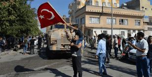 Suriye'de TSK'ya destek gösterileri düzenlendi