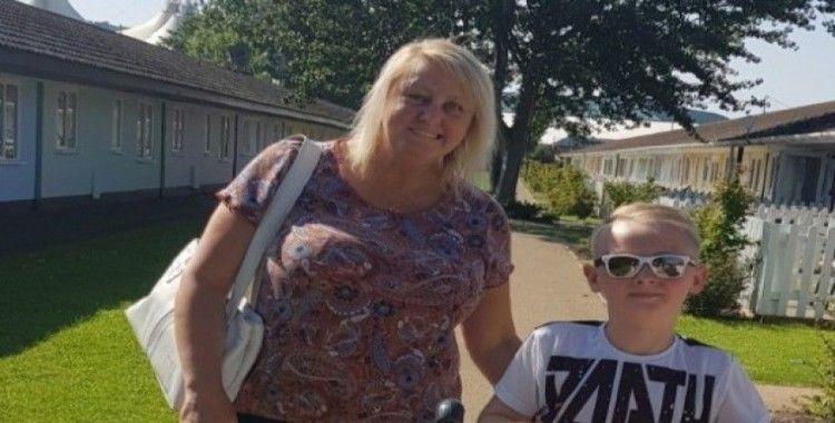 Felç geçiren İngiliz kadının ülkesine gitmesi için yardım kampanyası
