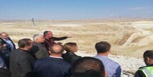 DSİ Genel Müdürü Aydın'dan Eskişehir Gökpınar Barajında inceleme
