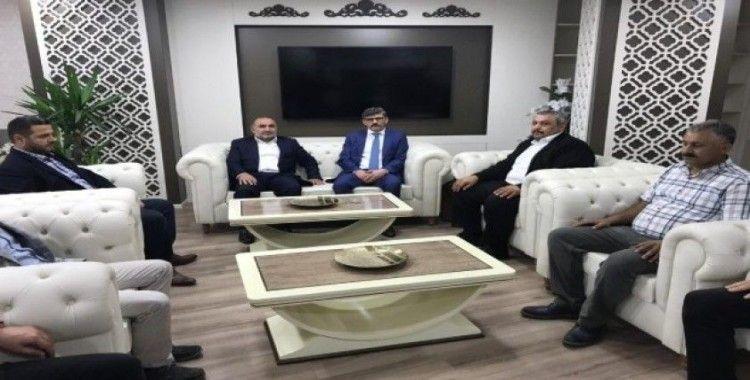 MÜSİAD'dan Emniyet Müdürü Ercan Dağdeviren'e  ziyaret