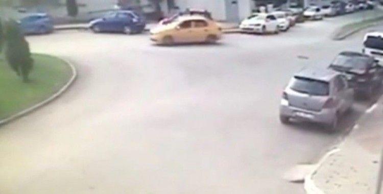 Taksicinin yağma oyununu jandarma bozdu