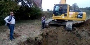 Köylüler kendi imkânları ile yerin 7 metre altında su buldular