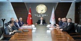 Rektör Çomaklı'dan Sanayi ve Teknoloji Bakanı Varank'a ziyaret
