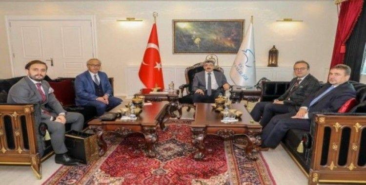 BİK Genel Müdürü Duran, Vali Bilmez'i ziyaret etti