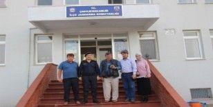 Çanlı gazetecilerden Teğmen Çalış'a ziyaret